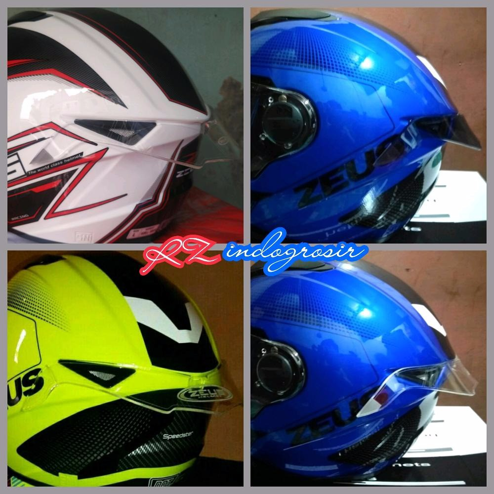 Helm Kyt Vendetta Decal 46 Project Plus Spoiler Pista Shopee Indonesia Cargloss Ald Sircon Supermoto Full Face Blue