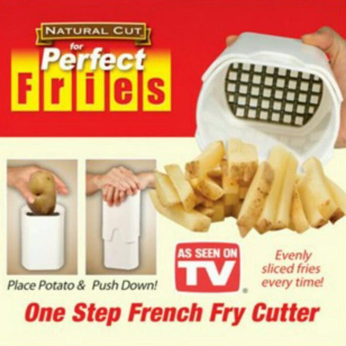 BEST SELLER TERLARIS PERFECT FRIES Pisau Kentang gen 2 One Step French Fry Cutter | Shopee