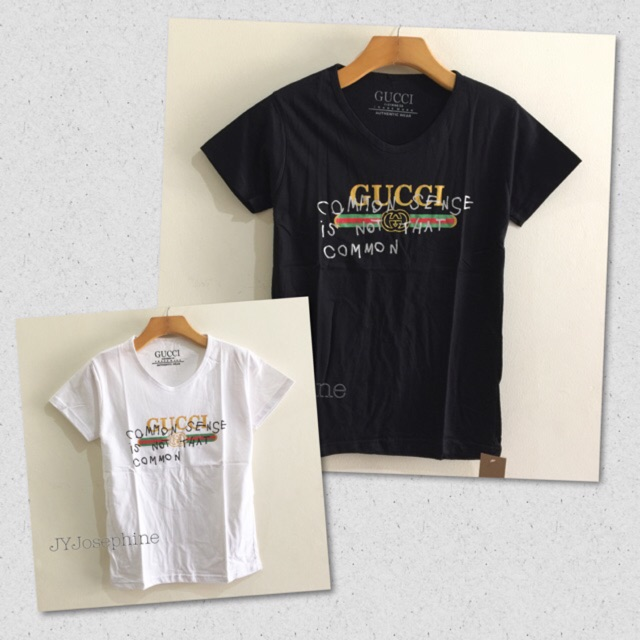 8da35ee2 Kaos wanita t shirt tumblr tee cewek gucci branded   Shopee Indonesia