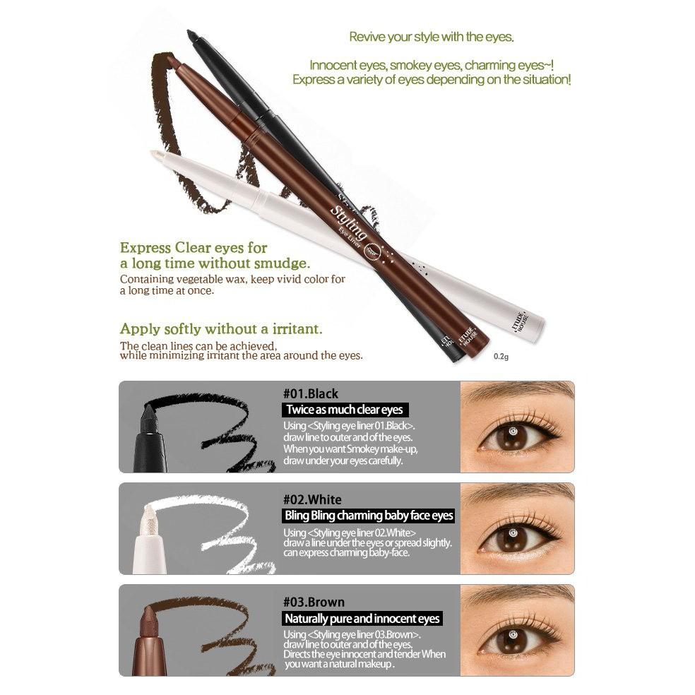 Etude House Styling Eyeliner Ad Shopee Indonesia