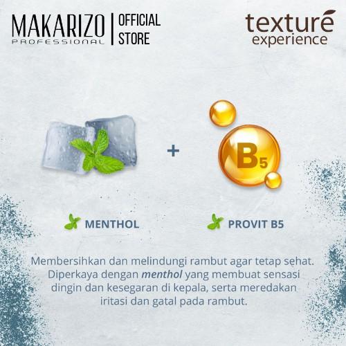 Makarizo Professional Texture Experience Shampoo Mint Sorbet 250 mL-3