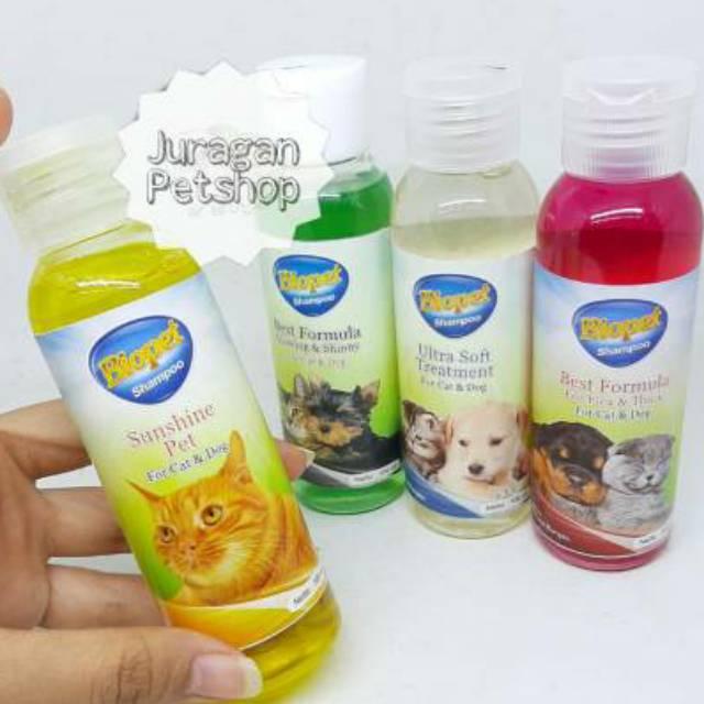 Shampo kucing/anjing BIOPET 100ML| SHAMPO BIOPET 100ML