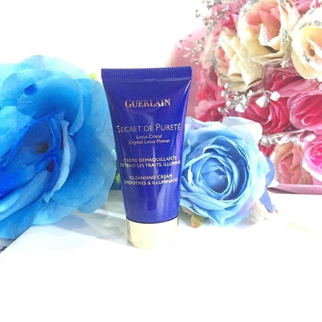 Guerlain Secret De Puret Cleansing Cream Shopee Indonesia