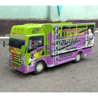 Miniatur Truk Skala 1 20 Shopee Indonesia