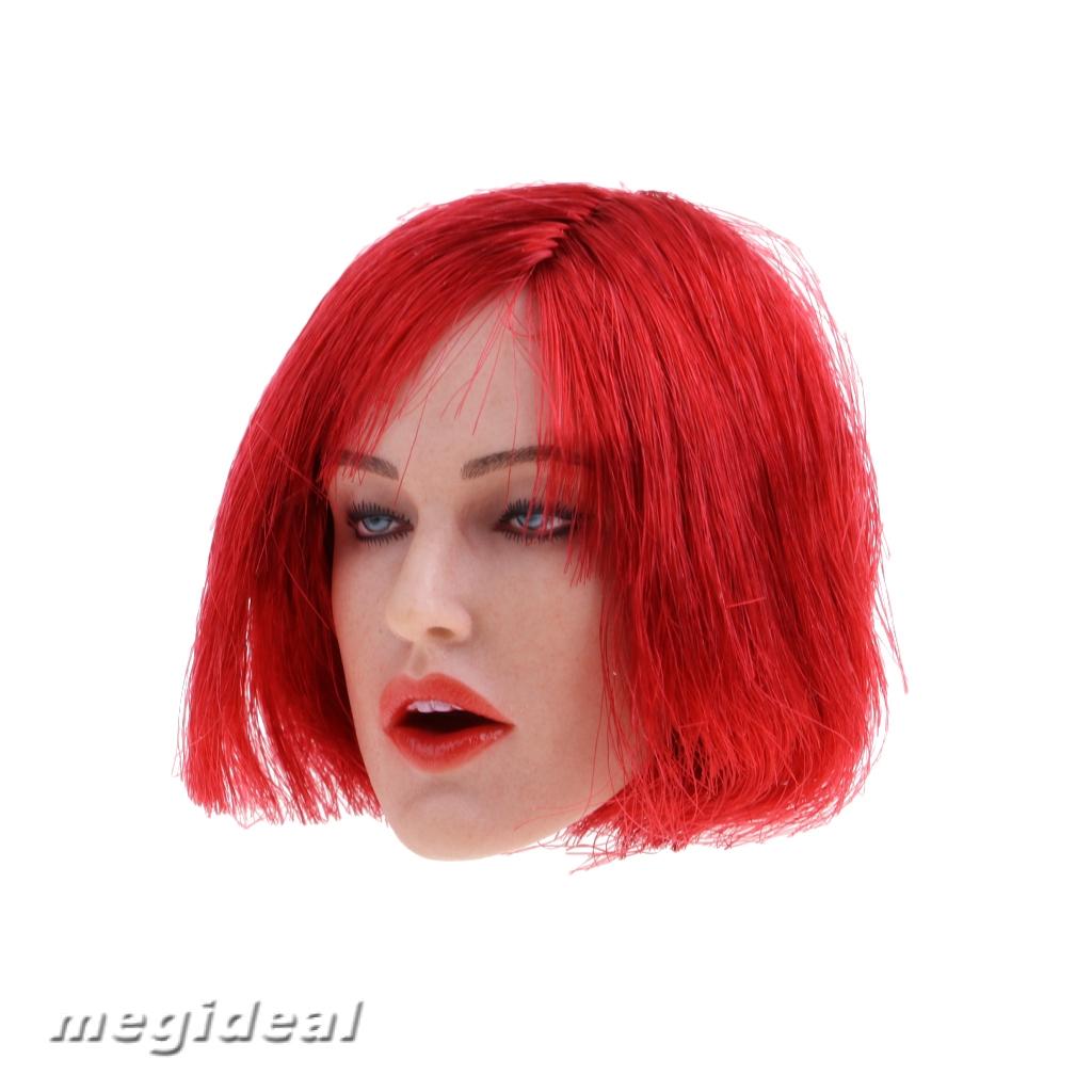 "1:6 Lady Head Sculpt GC017 for 12/"" Female Phicen Action Figure Accessories C"