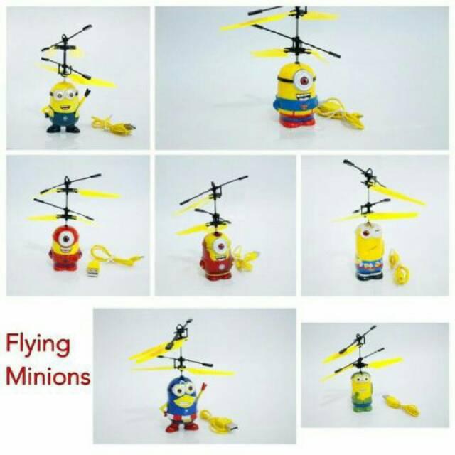 Flying Toy - Mainan Anak Terbang - Karakter MINION - 3. Source · Jual Flying