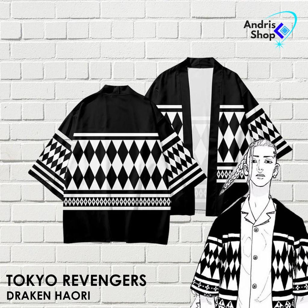 Jaket Anime Tokyo Revengers Draken Haori - HAORI 01