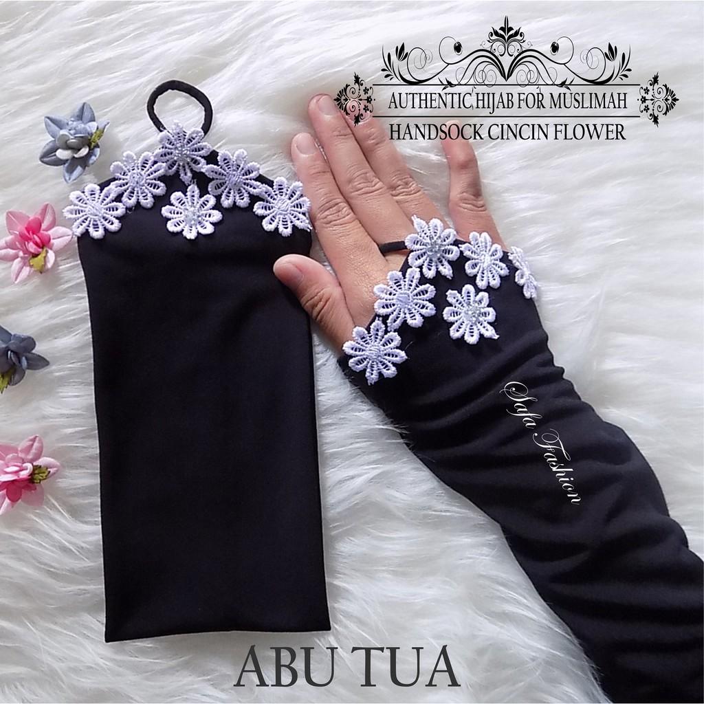Handsock Cincin Pita Miring Manset Shopee Indonesia Black