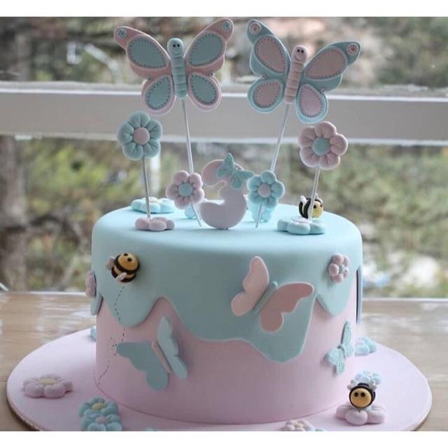 Custom Kue Ulang Tahun Anak Karakter Lucu Kue Tart Anak Birthday Cake Karakter Free Design Shopee Indonesia