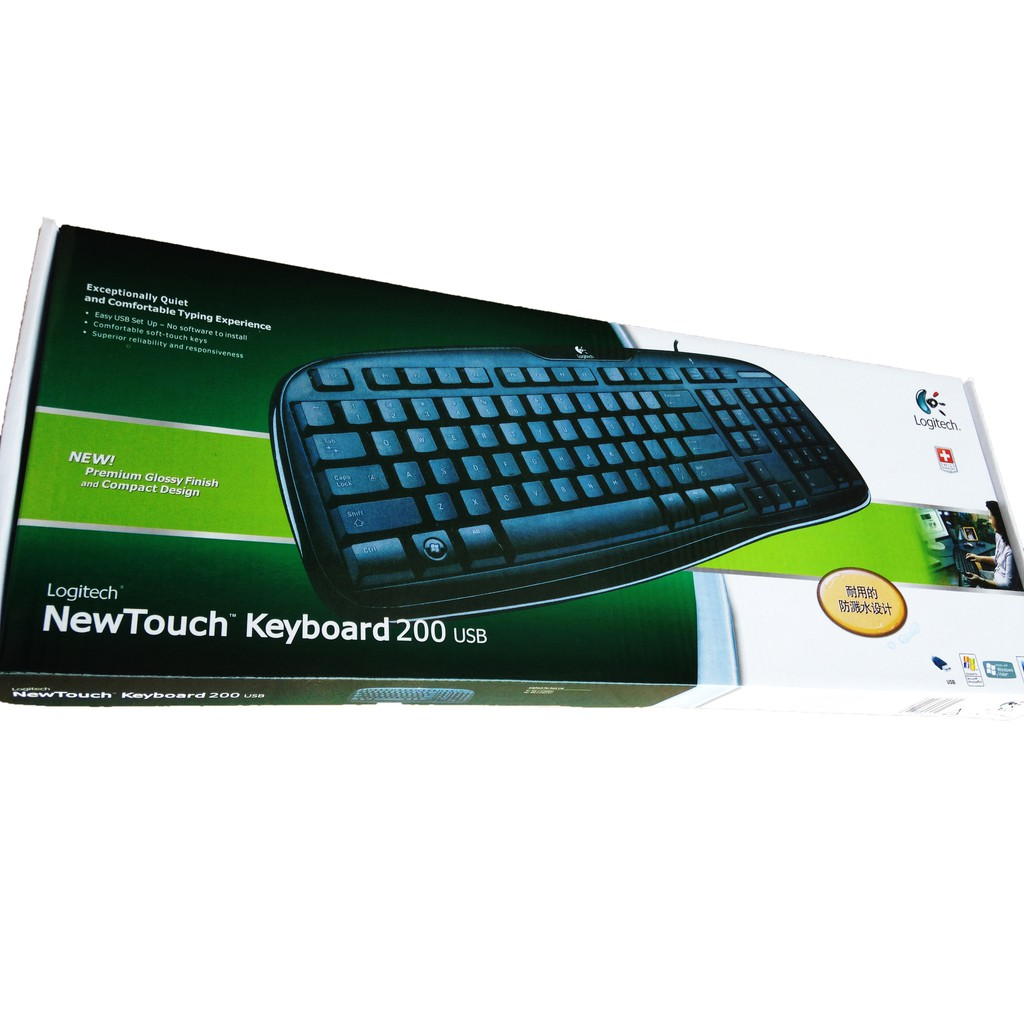 Logitech K120 Usb Keyboard Shopee Indonesia Original