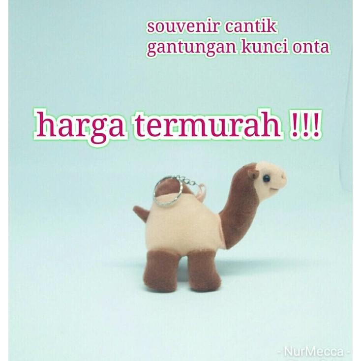 Oleh Oleh Haji Gantungan Kunci Boneka Onta Paket Souvenir Murah Umroh  fe473d4f62