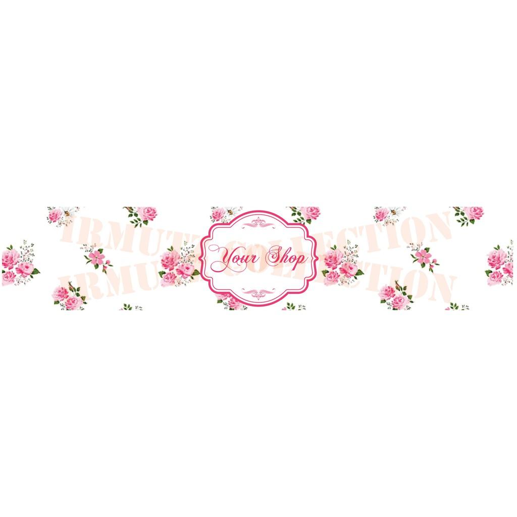 Roll Hijab/ Roller Jilbab / Label Pengikat Kerudung Desain No. 9