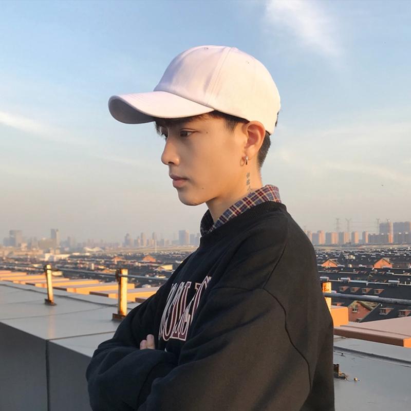Topi Musim Semi Laki Laki Dan Musim Panas Dingin Versi Korea Tampan Dari Hipster Biasa Pria Bertopi Shopee Indonesia