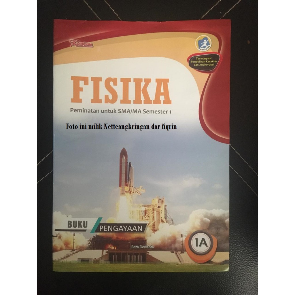Lks Fisika Kelas 10 11 X Xi Sma Ma Smtr 1 Kurikulum 13 K13 Revisi 2017 Kharisma Top New Shopee Indonesia