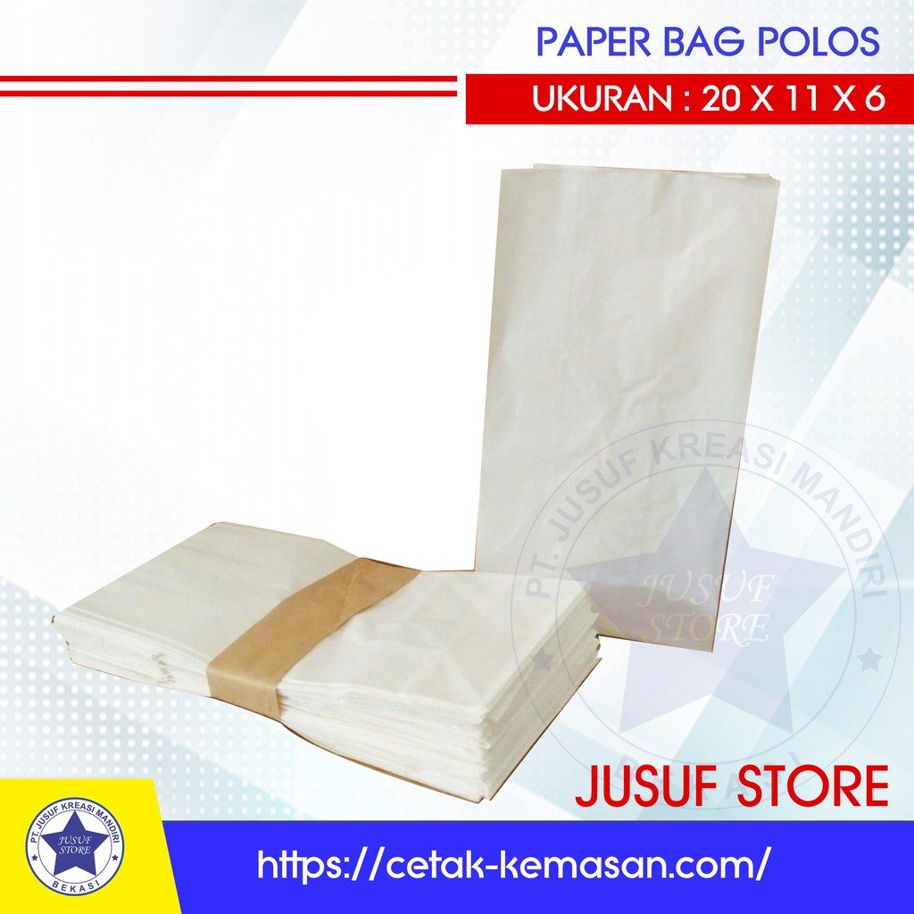 Kertas kantong paper bag bungkus fried chicken, Tahu,Jamur crispy dll | Shopee Indonesia