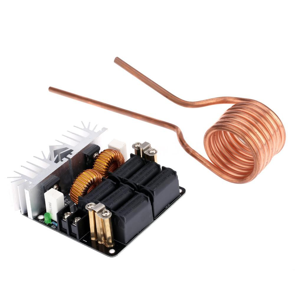 1000W  ZVS High Frequency Induction Heating Machine Heater Copper Tube 20A