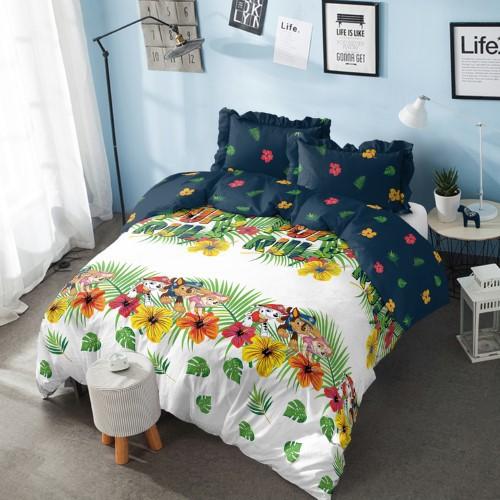 kintakun bed cover d'luxe  160 x 200 queen  paw patrol