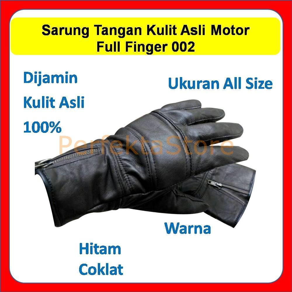Sarung Tangan Kulit Asli Batok Racing Motor Half Finger 001 Hitam Garut Protection Brown Best Seller Shopee Indonesia