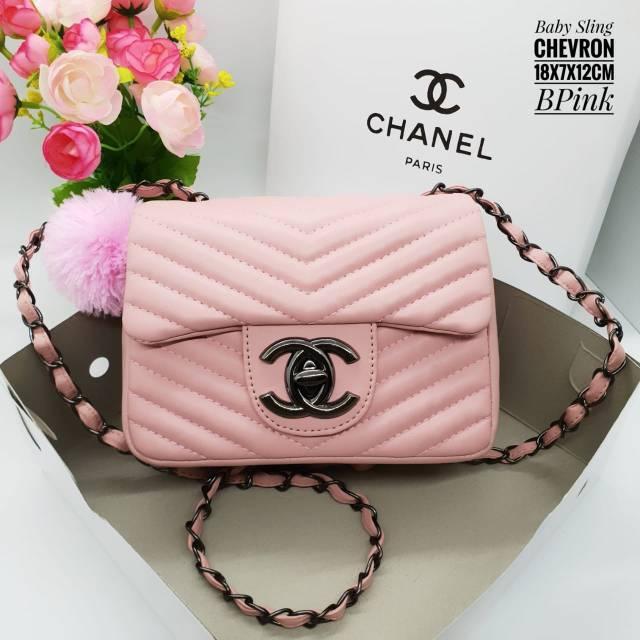 Tas Chanel Baby Sling Maxi Mini TERMURAH !! Tas Batam super !! Readystock  1fa0915e03