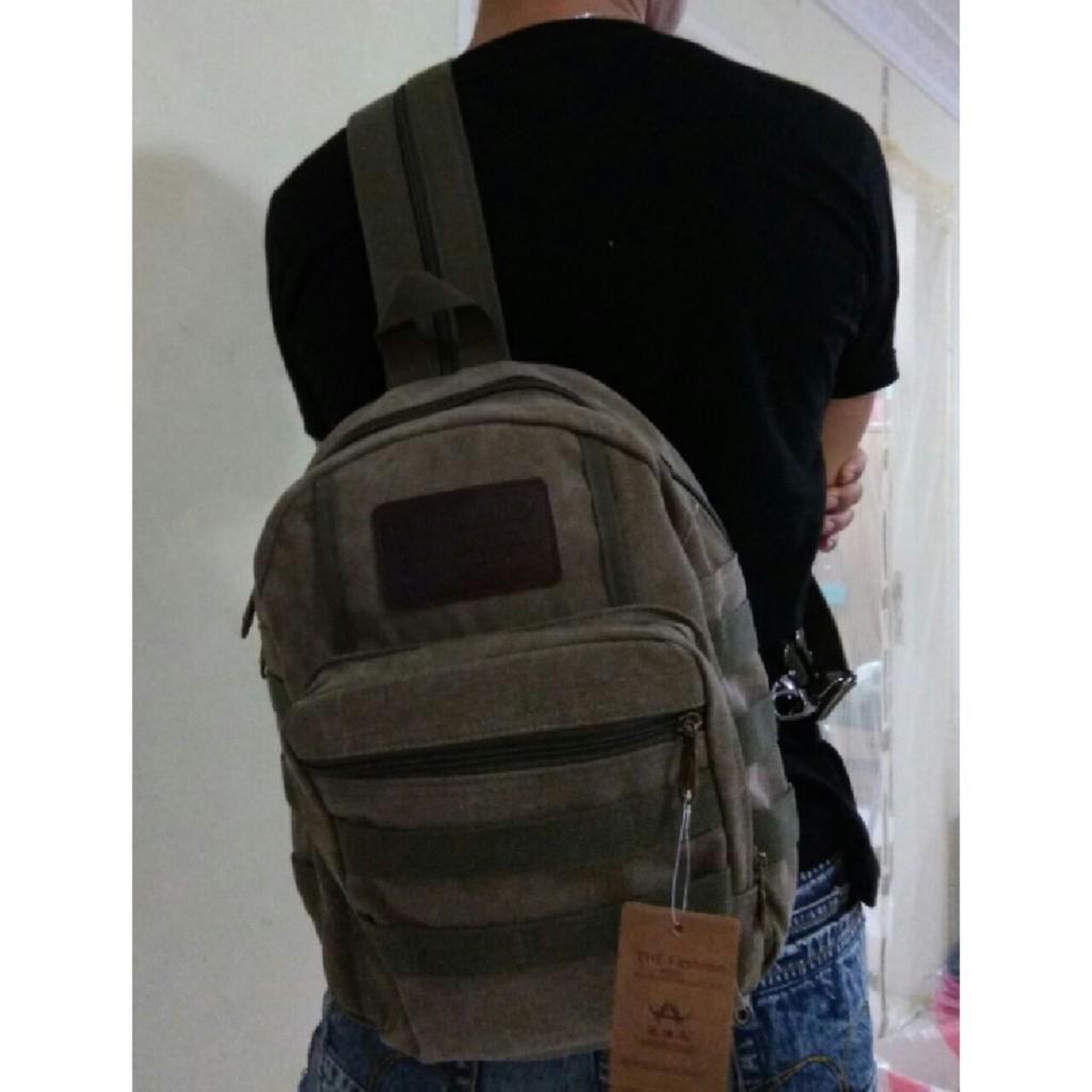 Tas Ransel Laptop Bodypack Army 3p Punggung Backpack Militer Tactical 3d Shopee Indonesia