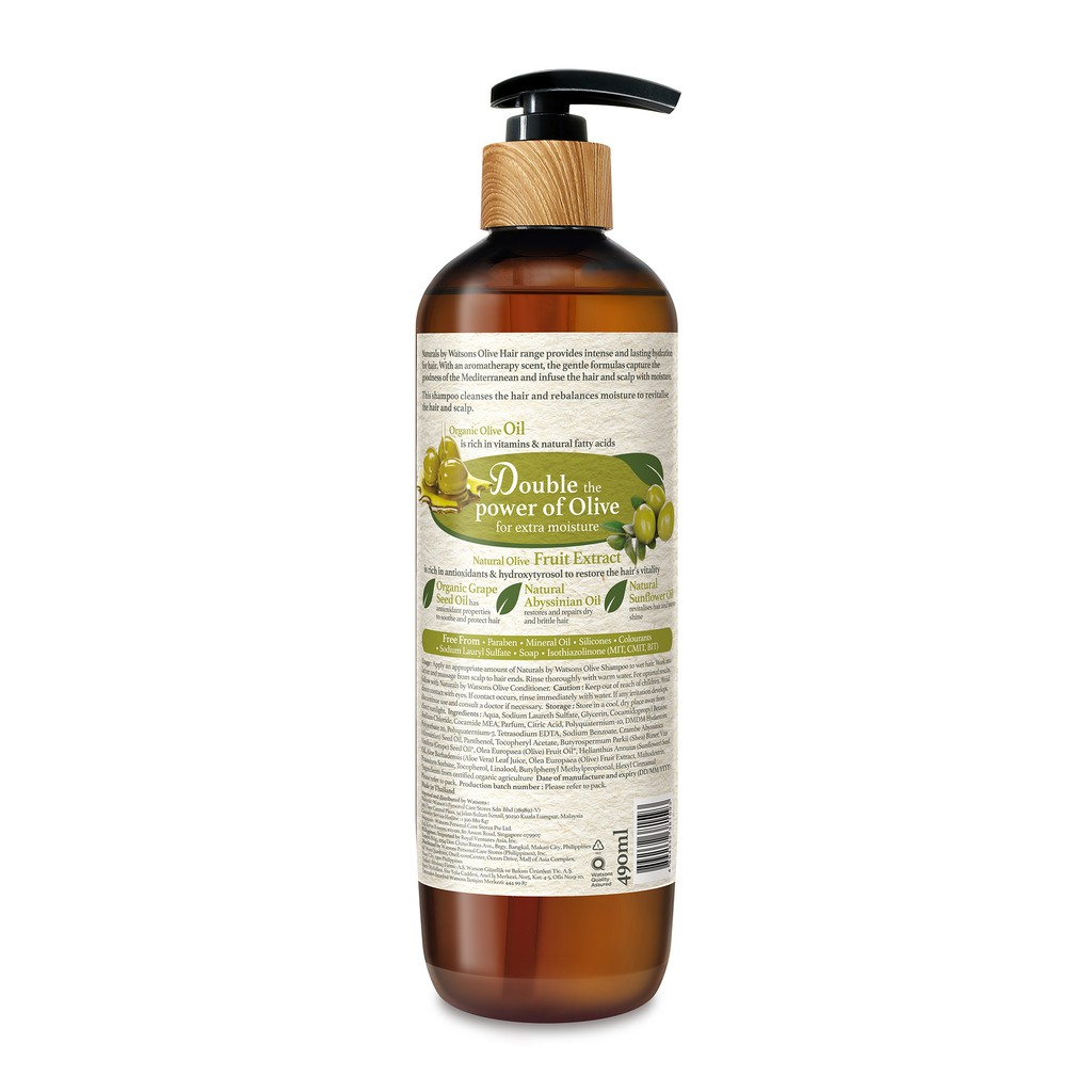 NATURALS BY WATSONS Olive Shampoo-2