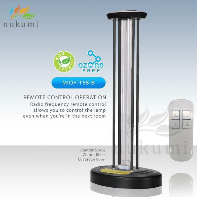 READY NUKUMI Lamp UV Virus Killer Model T58B