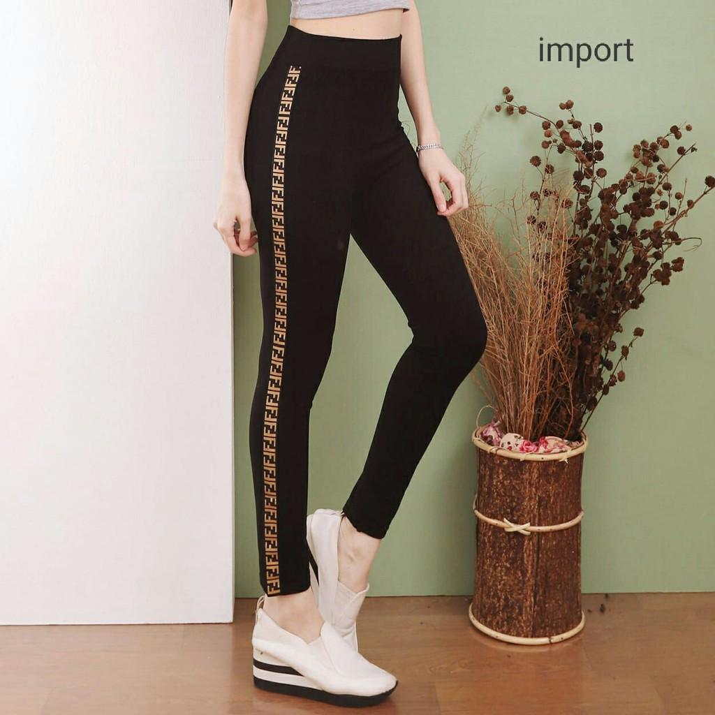 Legging Import Fergi Celana Legging Wanita Terbaru Shopee Indonesia