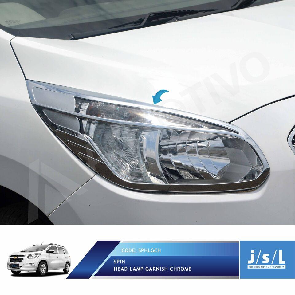 JSL Garnis Depan Krom Wuling Confero S Head Lamp Garnish Chrome | Shopee Indonesia