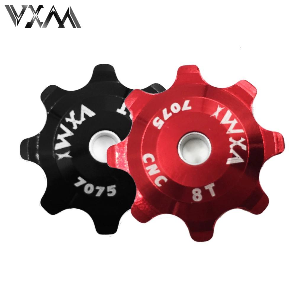 IMPORT VXM Bicycle Derailleur Ceramic Pulley Aluminum Alloy Rear Derailleur 8T Guide