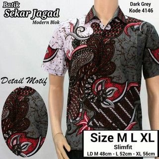 Model Kemeja Baju Batik Pekalongan Baju Batik Modern Hem Batik Pria