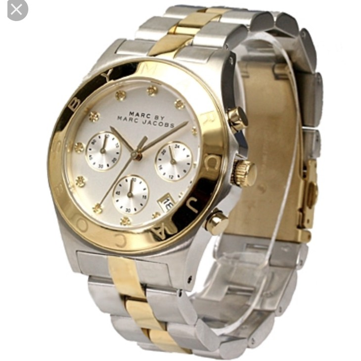 Jam Tangan Wanita Merk Marc Jacob Type MBM 3178 Original S.Steel Garansi 1th