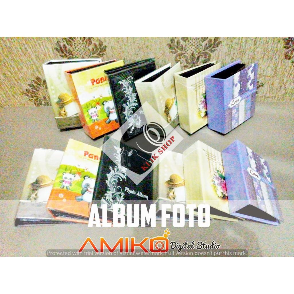 Promo Terbatas Tempat Album Foto Shopee Indonesia Magentic Jumbo Doubletone