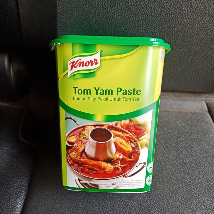 Knorr Tom Yam Paste 1 5kg Pasta Tom Yam Bumbu Tomyam Shopee Indonesia