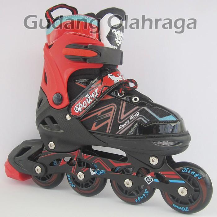 Sepatu Roda Bajaj Ban karet  inline skate PU WHEELS Anak dan Dewasa ... 2f27a31a8a