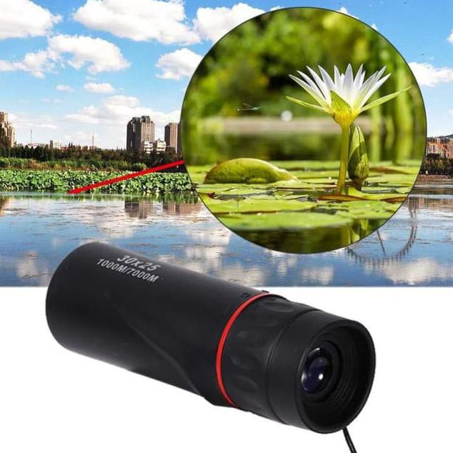 High Definition Monocular Waterproof Portable Compact Pocket Telescope 10x Zoom
