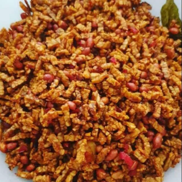 Kering Tempe Kacang Special Pedas Manis 150 Gr Shopee Indonesia