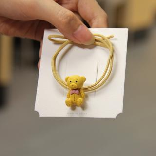 Ikat Rambut Bentuk Boneka Beruang Aneka Warna untuk Wanita 2
