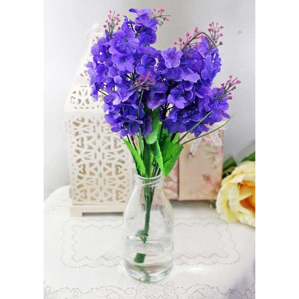 Buket Bunga Plastik Lavender Vas Teko Kaleng Shabbychic Murah ... 1ec76ed800