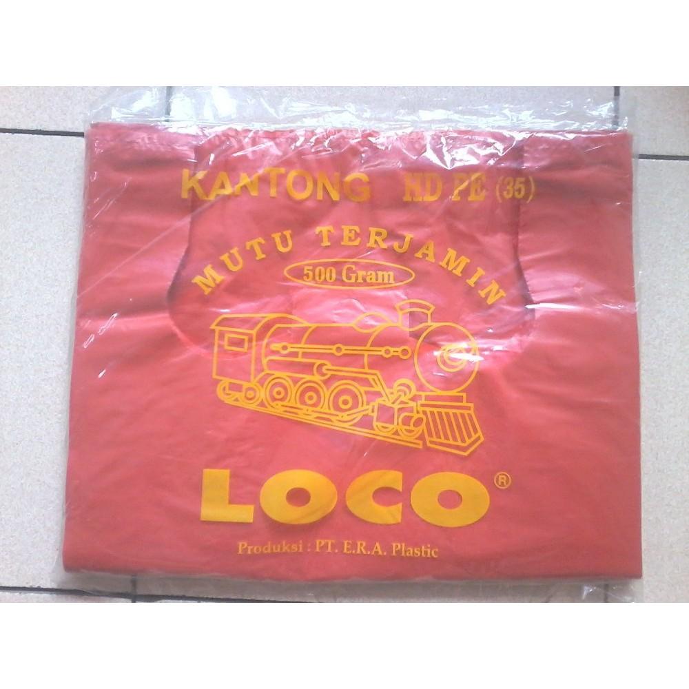 Kantong Plastik Kresek Loco Tebal Hitam 1 Kg Ukuran 50 Shopee Merah Hd Pe 17 Indonesia