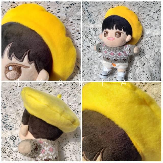 [Pre Order] Topi baret Kpop doll exo bts seventeen custom 2 warna gradasi