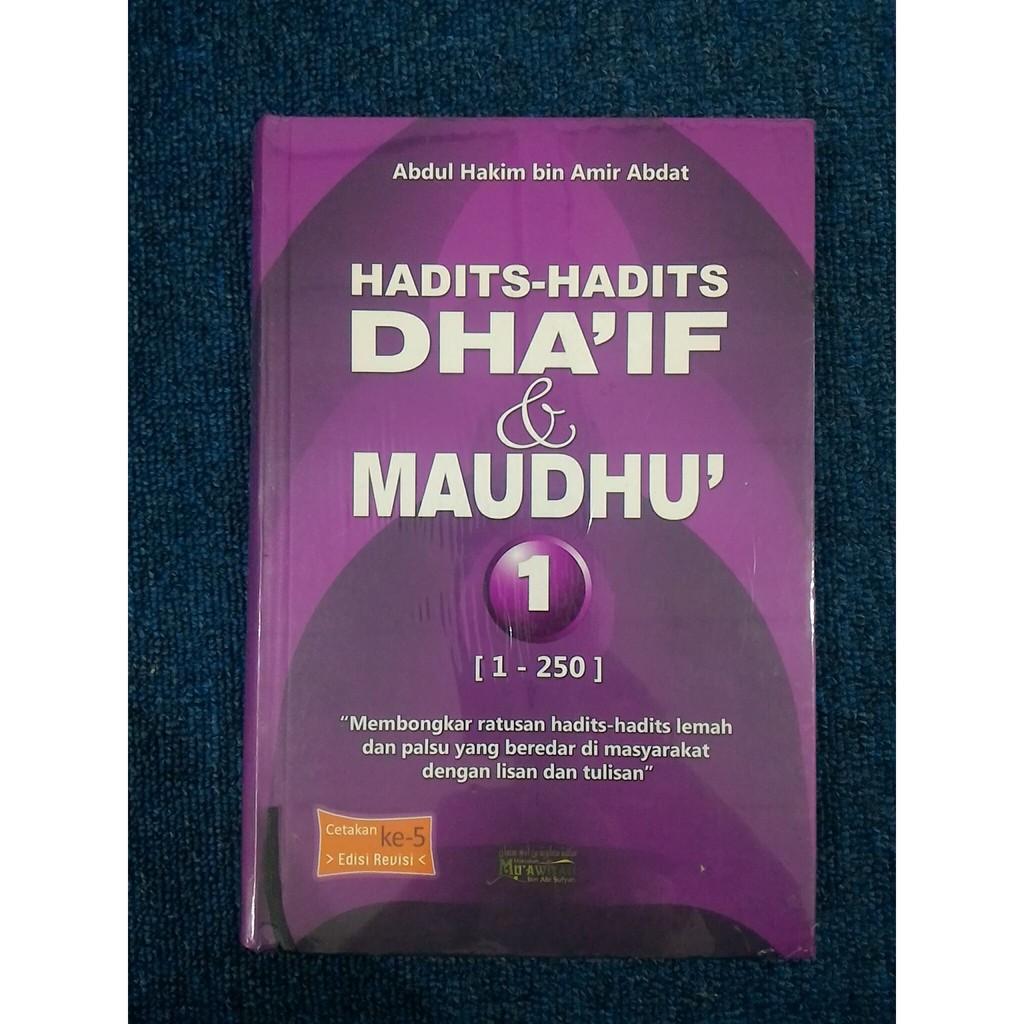 Buku Hadits Hadits Dhaif Dan Maudhu 2 Jilid Shopee Indonesia