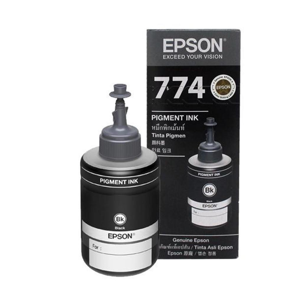 Tinta Epson T7741 Pigment M100 M105 M200 M205 Black 140 Ml Canon Gi 790 Ultimate Plus Uv G1000 G2000 G2003 G3000 Yellow 70 Shopee Indonesia