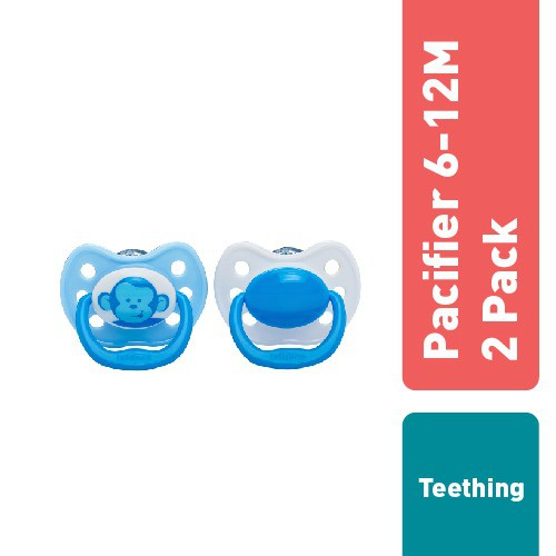 Tommee Tippee Ultra-Light Silicone Soother 6-18m 2 Pack