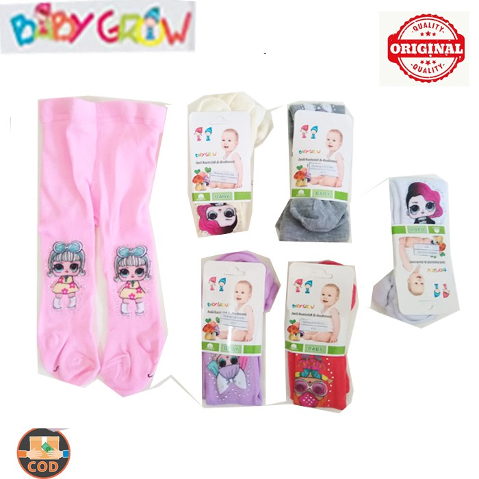 Baby Grow Stocking Bayi Karakter Lol Surprise Legging Bayi Tutup Kaki Shopee Indonesia