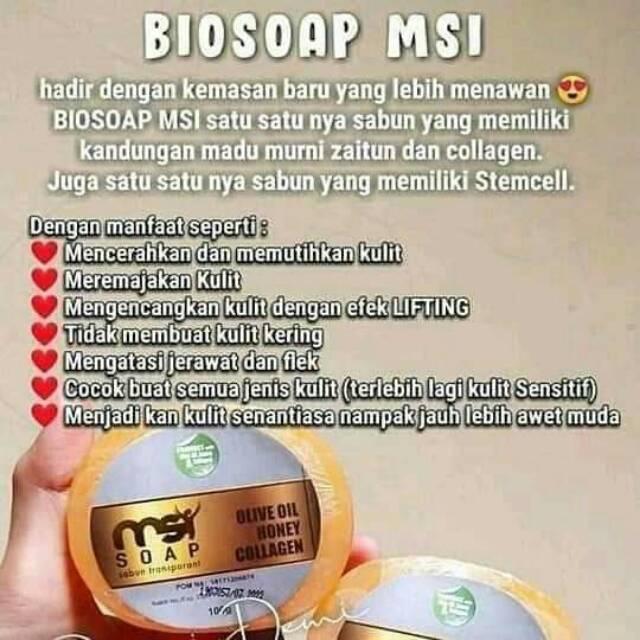 Bio Soap Sabun Madu Untuk Wajah Kering Dan Berjerawat Shopee Indonesia