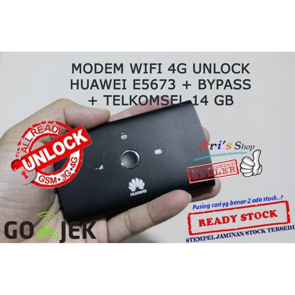 [Ready] MODEM WIFI MIFI 4G TELKOMSEL HUAWEI E5673 E5673S UNLOCK GSM BOLT BYPAS Network / Jaringan