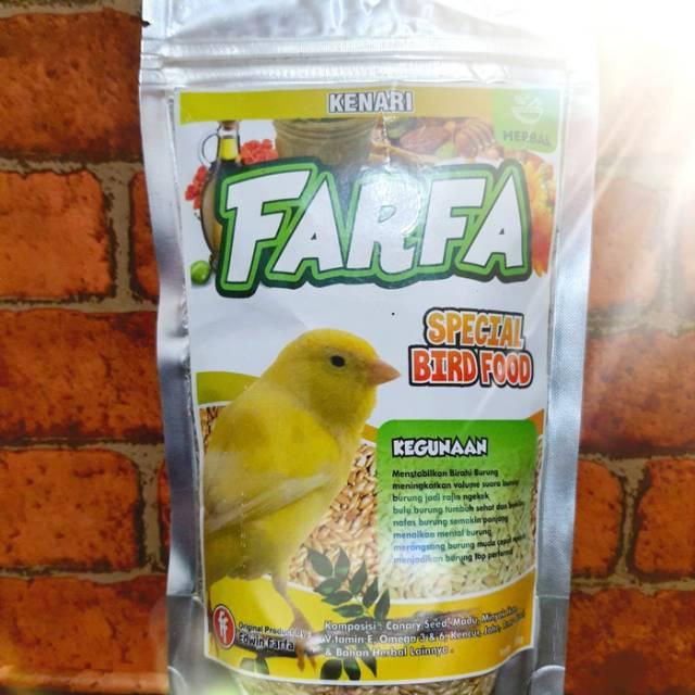 Pakan Burung Kenari Herbal Farfa Shopee Indonesia