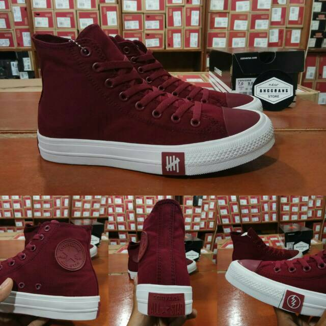Sepatu Converse CT Chuck Taylor 2 II All Star Low Red Chili Merah - Original  Premium BNIB Vietnam  01b1ffd357