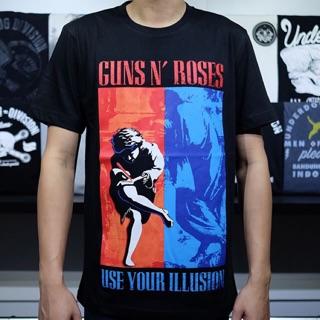 Kaos Musik Pakaian Guns And Roses GNR