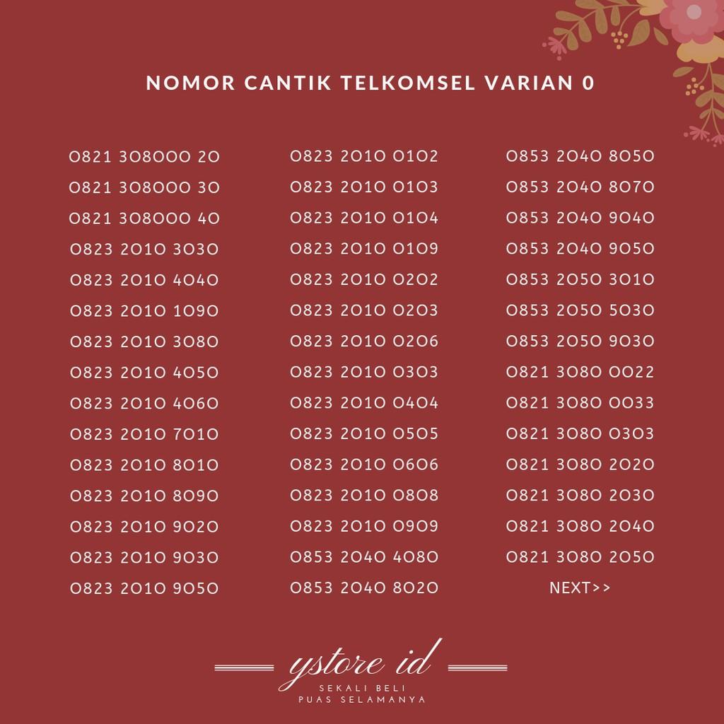 Nomor Cantik As Madura Nomer Cantik Kuarted Tiga Ekor Puluhan 8060 | Shopee Indonesia